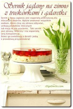 Cheesecake with jelly Vegan Sweets, Fodmap, Cheesecakes, Vegan Vegetarian, Jelly, Cake Recipes, Sweet Treats, Gluten Free, Baking