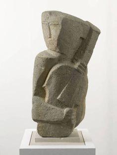 Ossip Zadkine (1890-1967) - Musician, 1919
