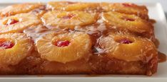 Pineapple Upside Down Cake Recipe {Video}   The WHOot Food Cakes, Cupcake Cakes, Bundt Cakes, Loaf Cake, Mini Cakes, Pineapple Upside Down Cupcakes, Pineapple Cake, Pineapple Upside Down Cake Recipe From Scratch, 13 Desserts