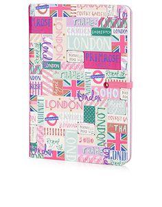 Carnet motif voyageur londonien