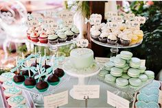 Love the colors for this bridal shower