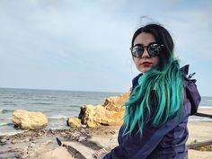 green hair girl from Moldova in Odessa near the Black Sea Green Hair Girl, Moldova, Black Sea, Girl Hairstyles, Archive, Dreadlocks, Hair Styles, Beauty, Hair Plait Styles