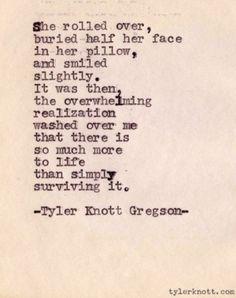 By Tyler Knott Gregson From Tylerknott.com
