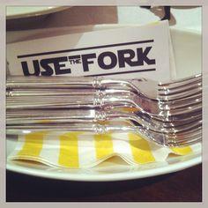 1 October: Star Wars Baby Shower Use the fork