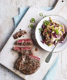 In the final part of DR MICHAEL MOSLEY'S eight week diet plan, he offers his top tips for long-term success and recipes for weekend dinners and brunches. including steak strips, pictured.
