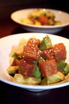 Avocado and raw tuna appetizer by cookpad Japan