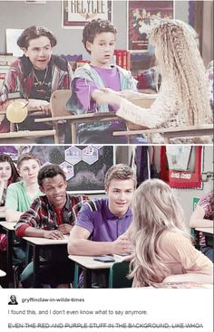 Girl Meets World.bmw&gmw parallels Zay and Shawn are the actual shippers Girl Meets World, Boy Meets World Quotes, Boy Meets Girl, Disney Channel Shows, Disney Shows, Funny Disney Jokes, Disney Memes, Old Disney, Cute Disney