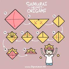 1x1.trans Samurai Helmet Origami Tutorial