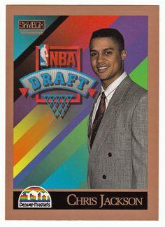 Chris Jackson RC # 357 - 1990-91 Skybox Basketball NBA Rookie