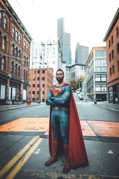 Photo by Bokeh Rang Superman Artwork, Superman Movies, Superman Family, Cosplay Diy, Best Cosplay, Cosplay Girls, Awesome Cosplay, Black Superman, Superman Logo