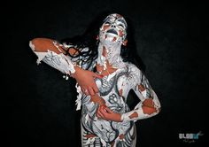 Latex body paint  https://www.facebook.com/pages/Bloom-Art-Studio/485282874858582
