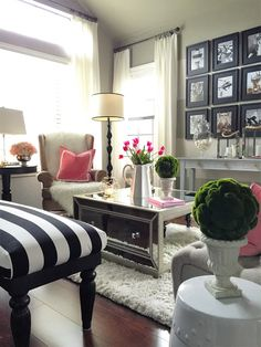 Home and Fabulous: DECORATING WITH PINK