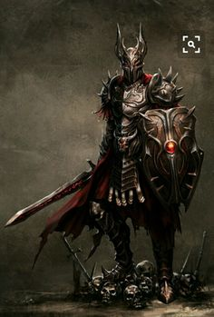 Evil warrior