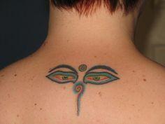 Buddha Symbols Tattoos | Eyes of Buddha – Tattoo Picture at CheckoutMyInk.com