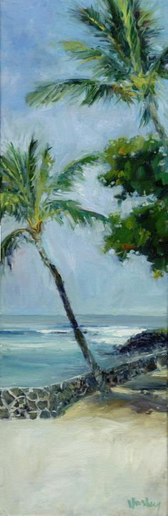 Kona sea wall by Stacy Vosberg