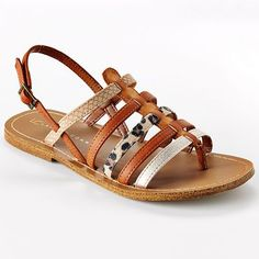 Definitely buying these tonight.  Replica of my favorite shoes from Paris!  Finally hits the US 2 years later!!    LC Lauren Conrad Gladiator Sandals