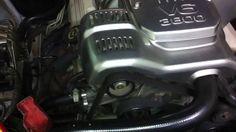 Motor 3.8 V6 no fusca