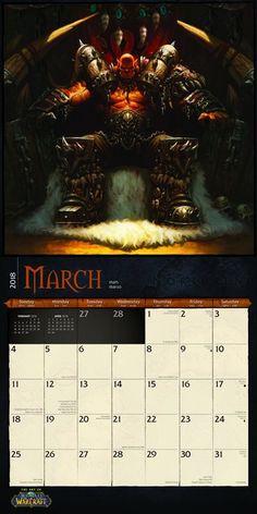 World of Warcraft Kalendarz 2018 | Kup na Posters.pl