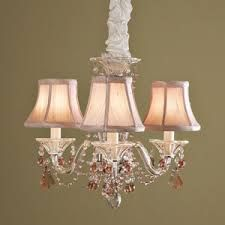 Image result for chandelier mini lamp shades