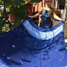 "nellie rose textiles: ""This past week's Shibori & Indigo workshop was such a beautiful experience. I had incredible hard-working students who accomplished so much in just a mere 3.5 days!"""