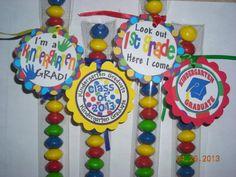 12 Kindergarten Graduation Candy Treat Bag by JustTheCuteStuff, $12.00
