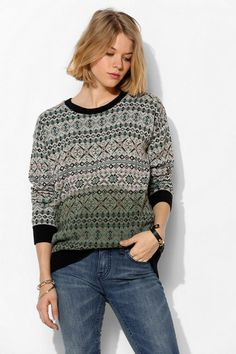 Fair Isle Sweater. Cute! | Wish List | Pinterest | .tyxgb76aj ...