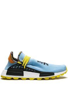 adidas by Pharrell Williams x Pharrell Williams Solar HU NMD sneakers - Blue Pharrell Williams, Adidas Originals, Adidas Tubular Nova, Nmd Sneakers, Kendall Jenner Style, Kylie Jenner, Kardashian Kollection, Versace Men, Blue Adidas