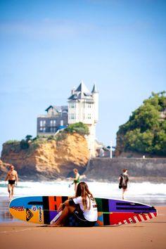 Biaritz, Surf, Fastcut