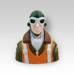 Thunder Tiger 3027 1/8 WWII Pilot by Thunder tiger. $10.99