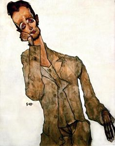 artist egon schiele paintings - Google Search