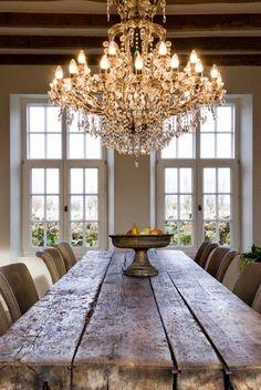 Lee Caroline - A World of Inspiration: Flemish Longhouse/Farmhouse - A Rustic, Contemporary Blend ...BEAUTIFUL!
