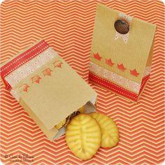 Paquetitos para regalar...galletas para el día del amigo, por ejemplo?
