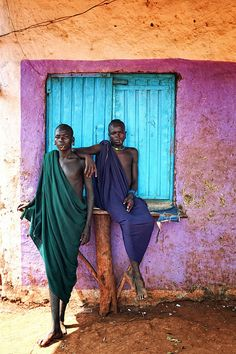 Surma Man, Ethiopia  Blue Nile Falls, Ethiopia http://thesitotacollection.com/ #luxury #travel #candles