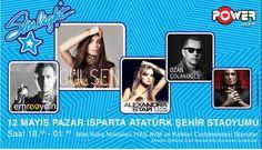Ozan Çolakoğlu; 12 mayıs'13 pazar Isparta Atatürk Şehir Stadyumu'nda setin başına geçiyor...