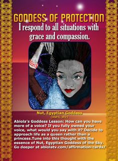 """Goddess of Protection 