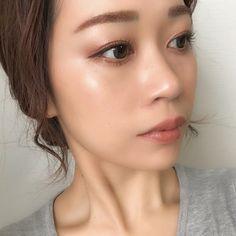 誰でも簡単に雑誌みたいなツヤ肌になれる!ハイライト4選♡ in 2019 Full Makeup, Beauty Makeup, Makeup Looks, Eye Makeup, Hair Makeup, Hair Beauty, Marshmallow Face, Beauty Book, Asian Makeup