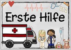 """Sachunterricht in der Grundschule: Themenplakat """"Erste Hilfe"""""""