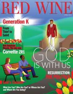 Red Wine Magazine's April 2014 Cover