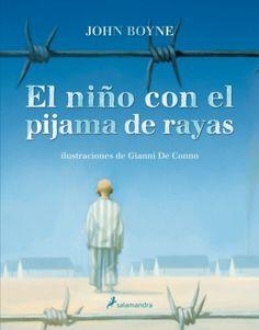 Novela muy conocida del irlandés John Boyne que acerca el tema de los campos de concentración a través de la mirada inocente de un niño.