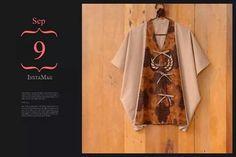 batik. n kimono style