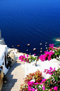 Santorini, Greece -- been there, want to go back more than anything!!