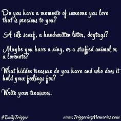 Write.Your. Treasures #InspiringMoment