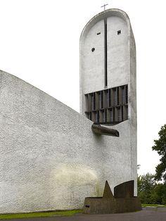 Le Corbusier | Notre Dame du Haut | Ronchamp, France