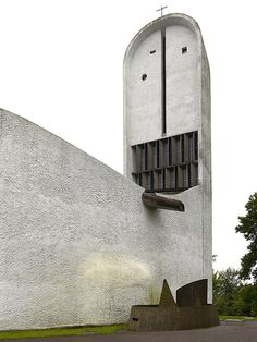 Notre Dame du Haut | Ronchamp, France | Le Corbusier | photo © Cemal Emden, post modernisme 1950-1954