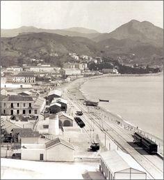 Malaga. La Malagueta, antigua zona industrial. Andalucía.