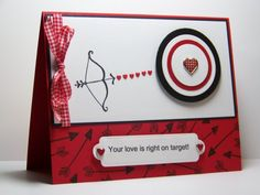 Archery Card, I made this for my husband for our anniversary. Barb McHenry
