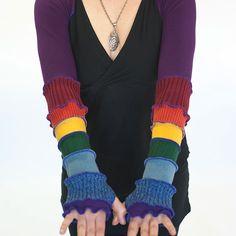 Rainbow shrug on www.dervishclothing.com