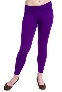 Type 1 Warm Layer Leggings In Purple - New Arrivals