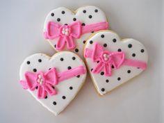 Heart Shaped Cookie Favors. $19.95, via Etsy.