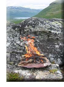 how to make fire in the wilderness - or anywhere. Traditional method.